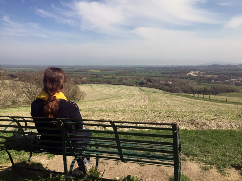 jill-staring-at-glynde