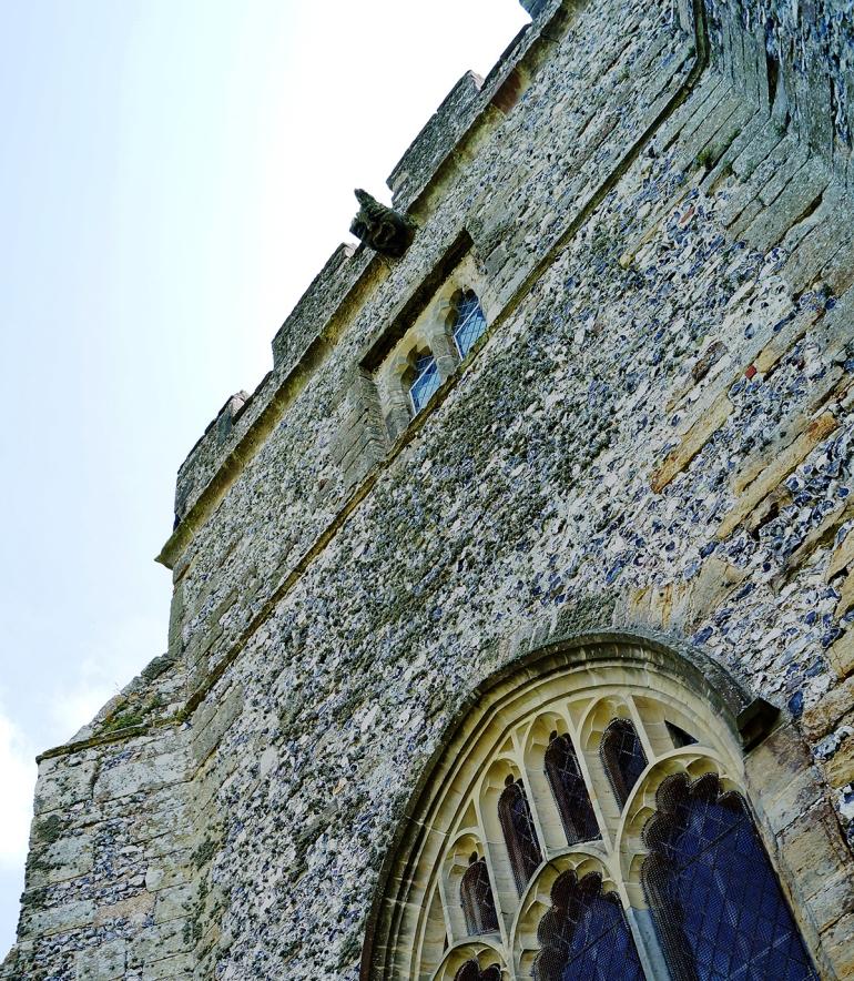 Hamsey-church-gargoyle