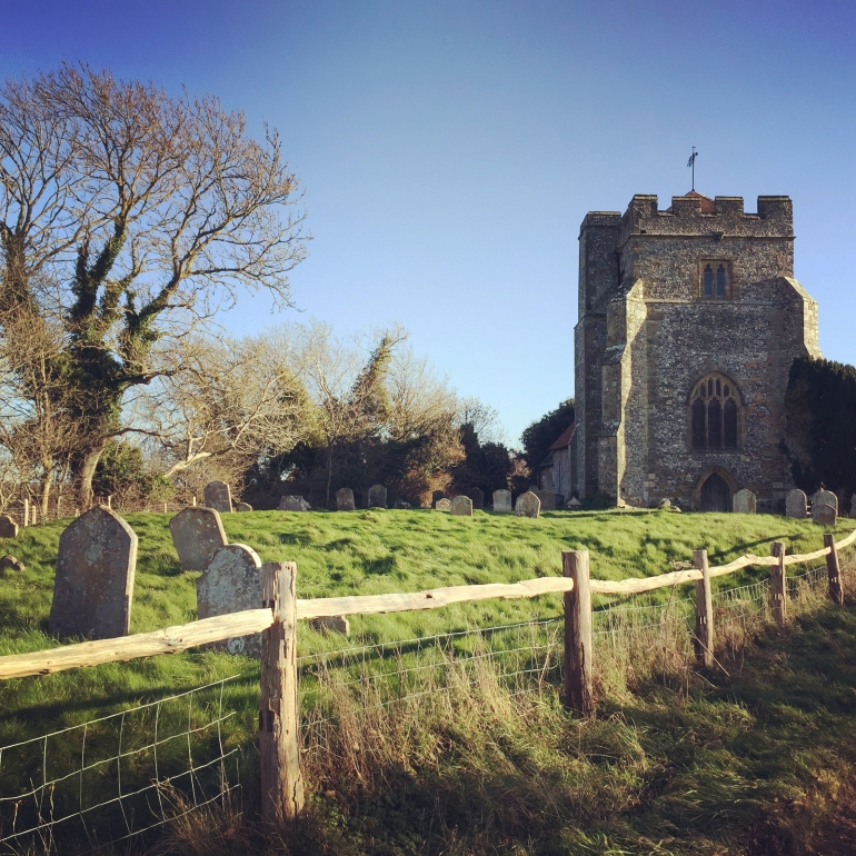 Old-Hamsey-Church-East-Sussex-England