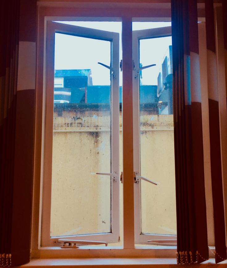 Brighton seaside b&b window seat